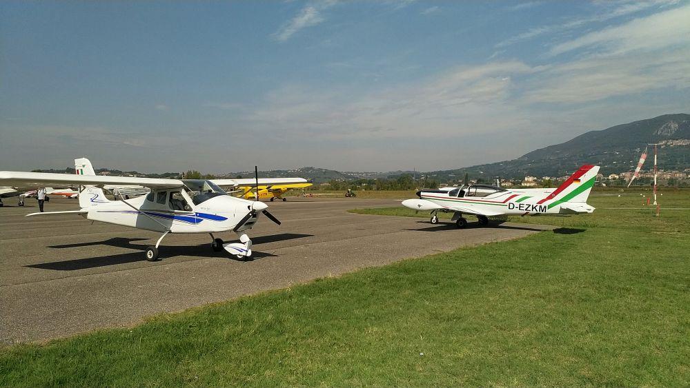 Der Flugplatz Alvaro Leonardi in Terni