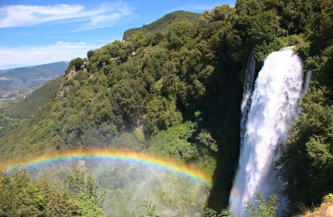Beitragsbild Cascata delle Marmore Wasserfall