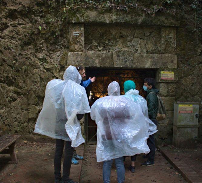 Eingang Tunnel zum Balkon der Verliebten - Balcone degli Innamorati