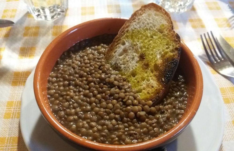 Linsen von Castelluccio di Norcia (g.g.A.) in Umbrien haben einen einzigartigen und unverwechselbaren Geschmack.