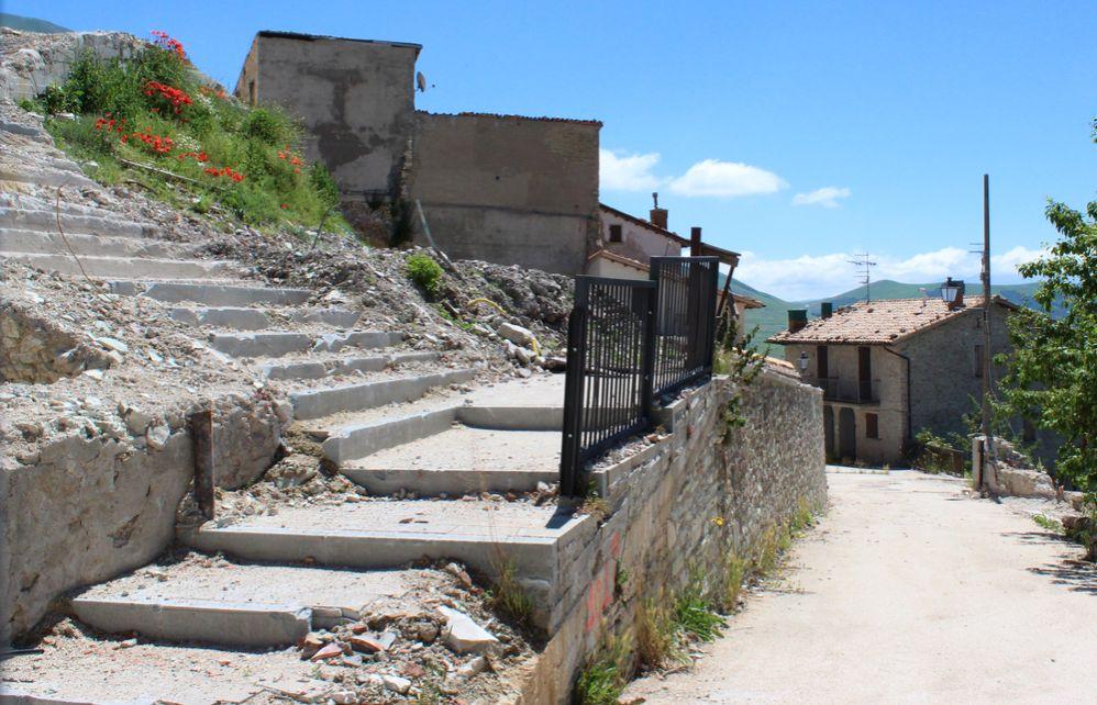 2020 war Castelluccio di Norcia seit Erdbeben 2016 zum Teil immer noch gesperrt
